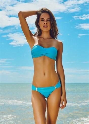 Раздельный голубой купальник чашка бандо 216/329 MARYSSIL - фото 6101