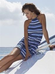 Пляжное платье в полоску Ysabel Mora 85439