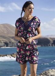 Платье 2019 с цветочным принтом Ysabel Mora 85548