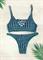 Зеленый раздельный купальник топ Maryssil 709/609 (3)