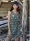 Платье в тропическом цветочном  принте Ysabel Mora - фото 7245