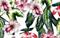 Купальник с цветочным принтом Marc&Andre - фото 8081
