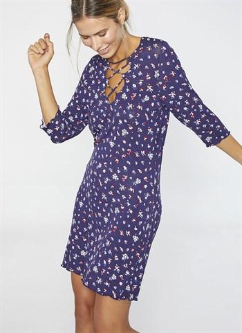 Синее платье от  Ysabel Mora 2020 - фото 10751
