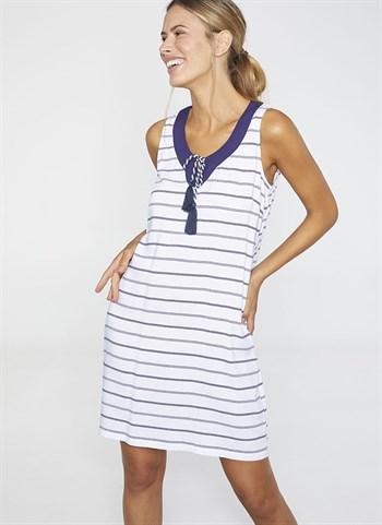 Пляжное платье в полоску Ysabel Mora 2020 - фото 10796