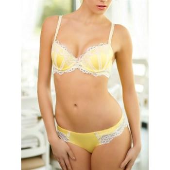 Бюстгальтер Dimanche лимонного цвета - фото 10925