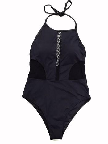 Черный слитный купальник Maryssil - фото 11232