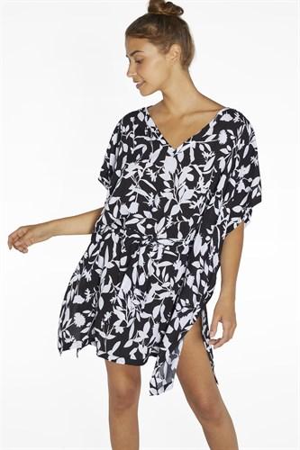 Черно-белое платье Ysabel Mora 85774-1