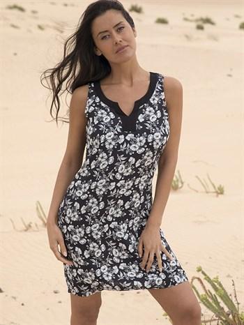 Платье 2019 черно-белое Ysabel Mora 85554