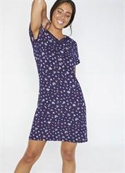 Платье до колен синее Ysabel Mora 2020