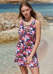 Легкое платье с цветочным принтом Ysabel Mora 2020
