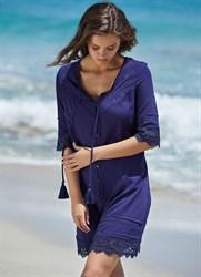 Синее платье-туника Ysabel Mora 2020