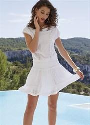 Платье белое пляжное Ysabel Mora