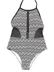 Черно-белый купальник Maryssil