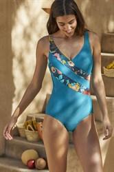 Слитный купальник с утяжкой Ysabel Mora 81282-1 banador.ru