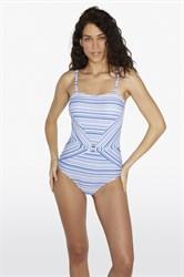 Слитный купальник бандо Ysabel Mora 81586-1