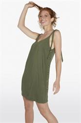 Летнее платье цвета хаки Ysabel Mora 85781-1