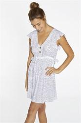 Летнее платье с коротким рукавом Ysabel Mora 85717-1
