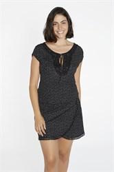 Черное летнее платье Ysabel Mora 85720-1