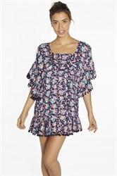 Летнее платье с рукавом кимоно Ysabel Mora 85735-1