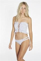 Белый купальник бандо Ysabel Mora 81509-1