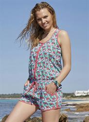 Пляжный комбинезон с шортами Ysabel Mora
