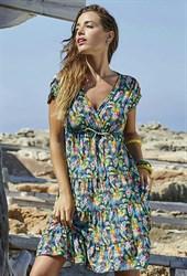 """Пляжное платье с принтом """"ананасы"""" Ysabel Mora"""