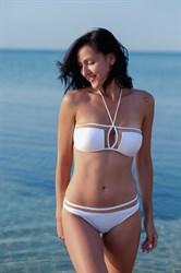 Белый купальник бандо SHE Debbie (1) | banador.ru