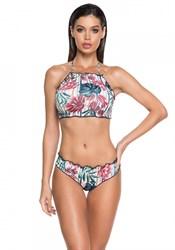 Раздельный купальник халтер 2020 Larissa Minatto