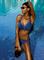 Раздельный синий купальник Feba F11D(759) - 1 - banador.ru